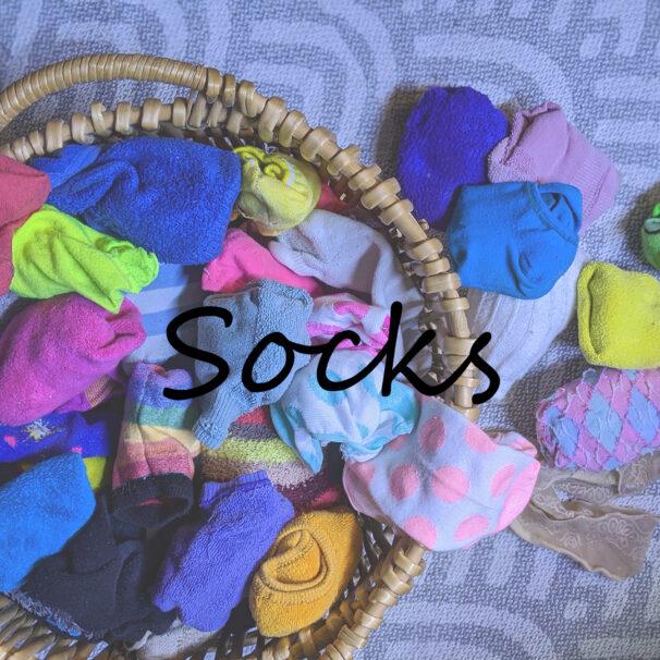 panties and socks